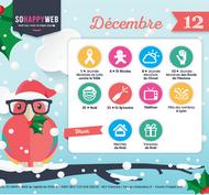 Dates clés calendrier éditorial décembre