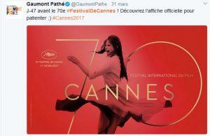 Festival de Cannes 2017 - Affiche