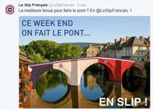 On fait le pont-slip-français
