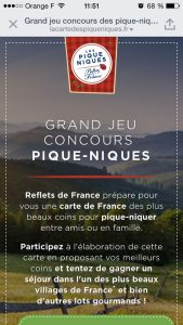 Picnic day - jeu Reflets de France