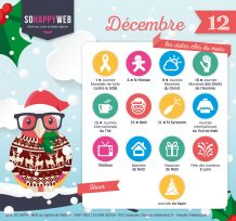 calendrier édito décembre 2017