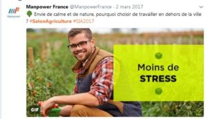 Salon de l'agriculture -Manpower
