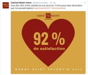 Saint Valentin - Avis clients