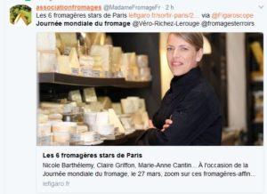 Journée mondiale des fromages