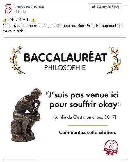 Bac - Innocent