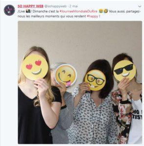 World emoji days SO HAPPY WEB