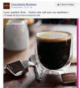 Journée mondiale du chocolat - Monbana