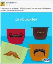Movember Danette