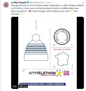 Bouge ton pompon, le Slip Français
