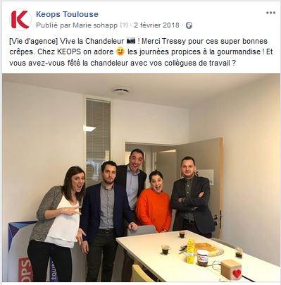Epiphaine chez Keops Toulouse