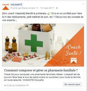 Coach Viasanté armoire à pharmacie
