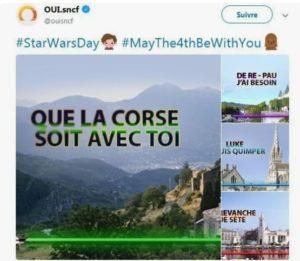 Que la Corse soit avec toi