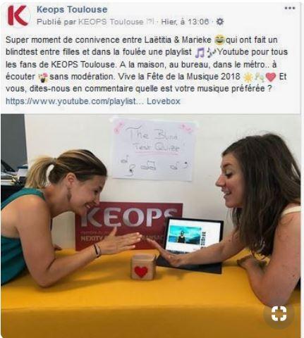Fete de la musique Keops Toulouse