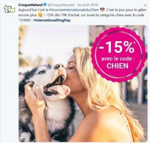Journée mondiale du chien, croquetteland