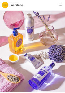 L'Occitane - photo instagram