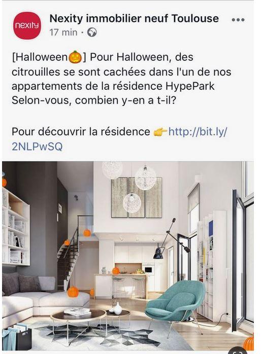 Halloween jeu Nexity