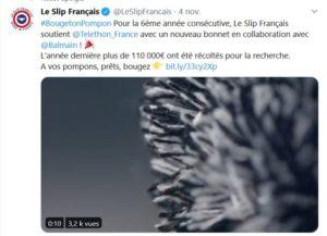 telethon slip français