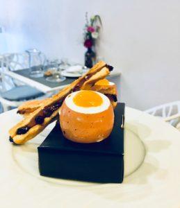Oeuf à la coque restaurant Sandyan Toulouse_SHW