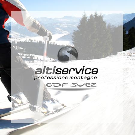 Animation des réseaux sociaux du regroupement ALTISERVICE de stations de ski dans les Pyrénées