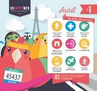 Calendrier éditorial AVRIL 2021