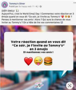 emoji day - Tommy's Diner