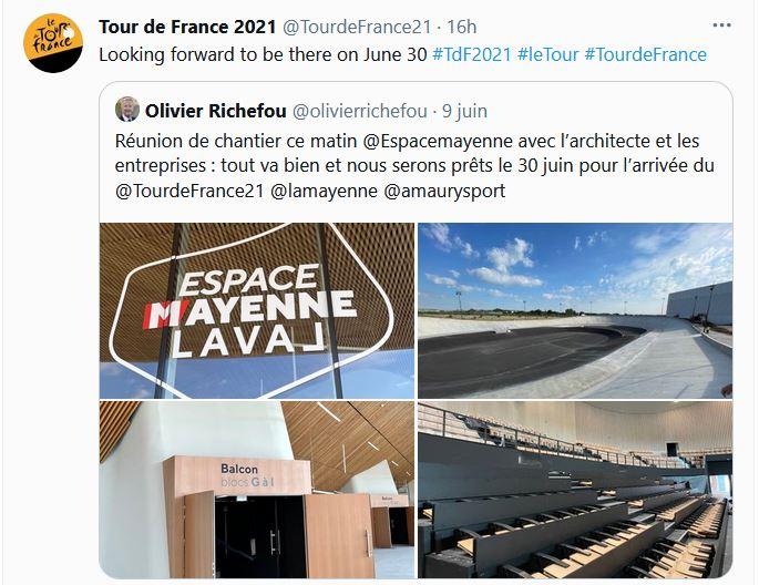 Tour de France 2021 Mayenne