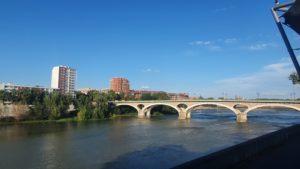 Une vue sur Toulouse à couper le souffre depuis le théâtre Garonne