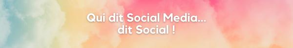 Qui dit social media dit social So Happy Web