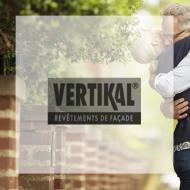 Logo Vertikal revêtement façade