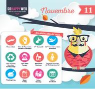 Dates clés calendrier éditorial novembre