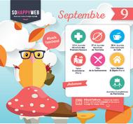 dates cles calendrier éditorial septembre