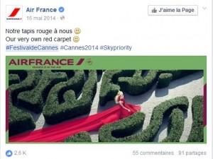 Festival de Cannes - Air France
