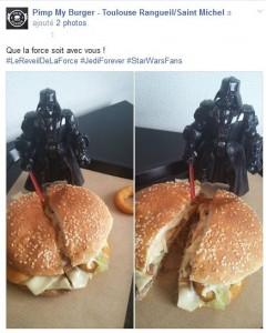 Que la force soit avec vous - Pimp my burger- Toulouse