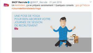 Journée internationale du yoga -SNCF