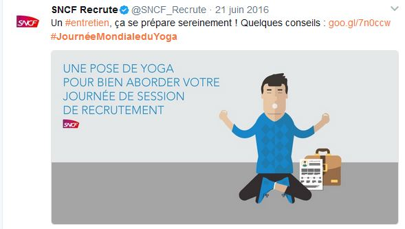Journée internationale du yoga -SNCF