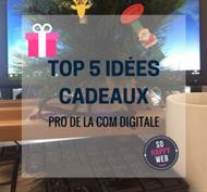 Top 5 des idées cadeaux pros de la com digitale by agence SO HAPPY WEB