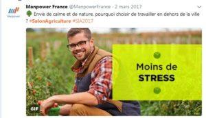 Salon de l'agriculture -Manpower
