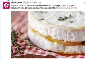 Journée Mondiale du fromage