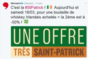Saint Patrick by Monoprix
