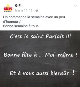 Saint Parfait - Gifi