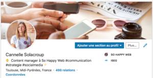 Comment optimiser son profil linkedin ? So Happy Web