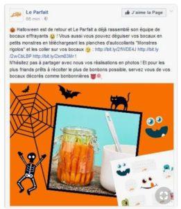 Halloween- Le Parfait