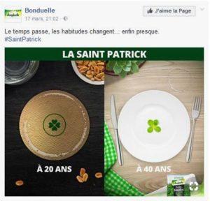 Saint Patrick/Bonduelle