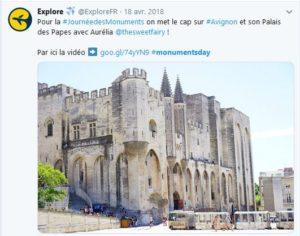 Journée des monuments Explore