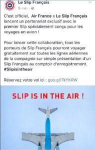 Slip français 1er avril