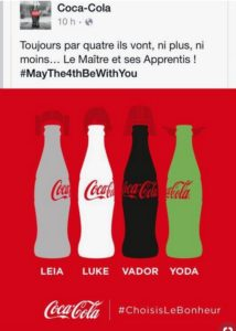 #MayThe4thBeWithYou - Coca Cola