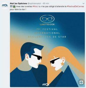 Festival de Cannes - Atol les Opticiens