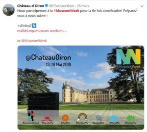 Museum Week 2019 - Chateau d'Oléron