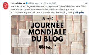 Journée du blog - Le livre de poche
