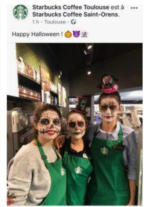 Halloween Starbucks